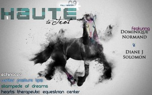 Haute To Trot, Issue 1 cover