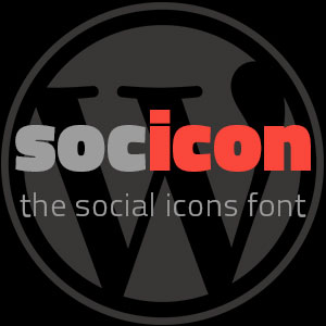 Socicon, the social icons font